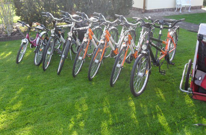 Unsere Leihräder